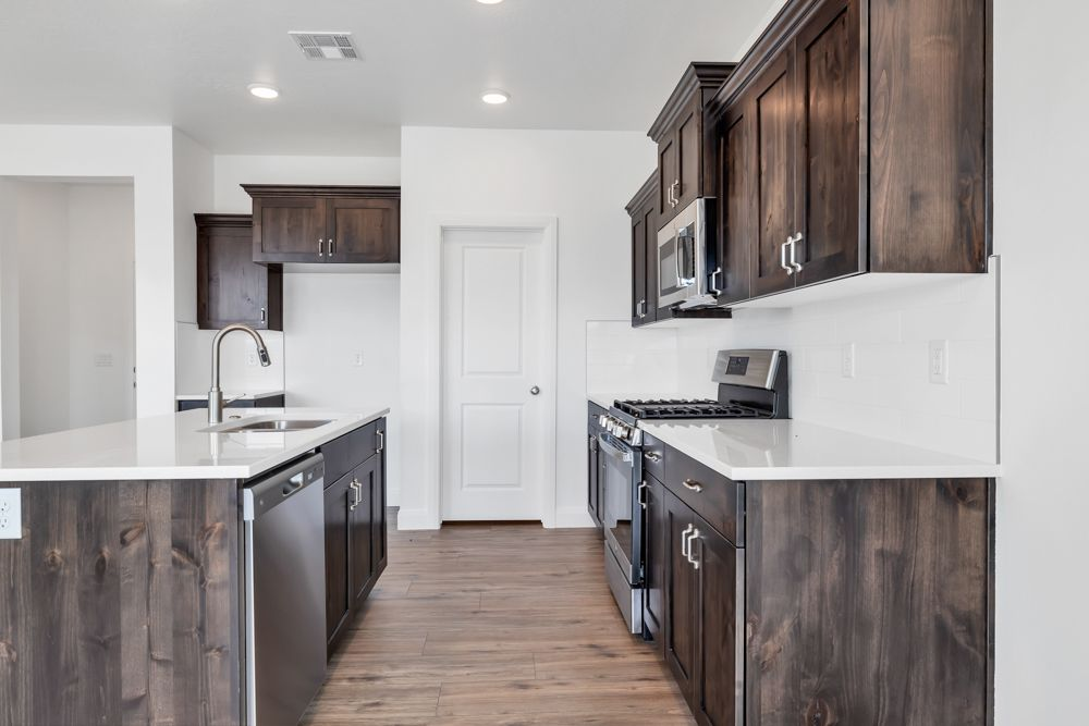 Kitchen featured in the Sonoran (SOG) By Visionary Homes in St. George, UT