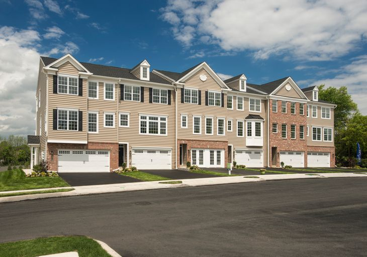 Arlington Square by W.B. Homes:New construction townhomes in Telford Borough