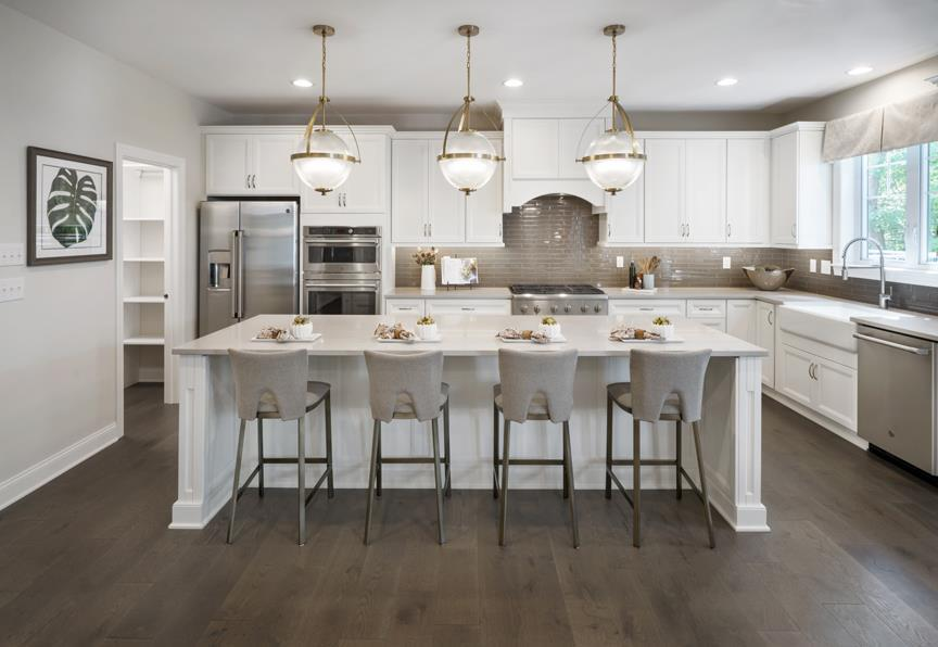 Kitchen featured in the Allendale By W.B. Homes, Inc. in Philadelphia, PA