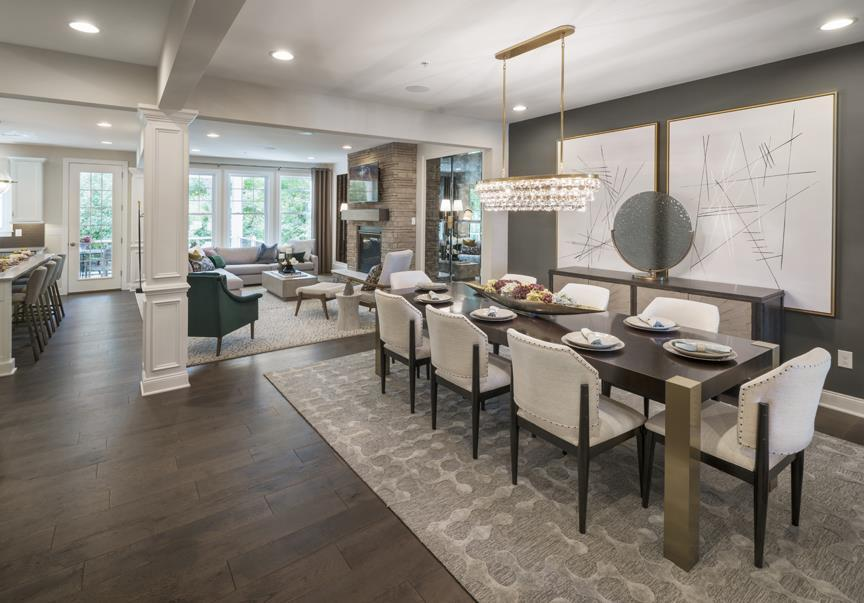 Living Area featured in the Allendale By W.B. Homes, Inc. in Philadelphia, PA