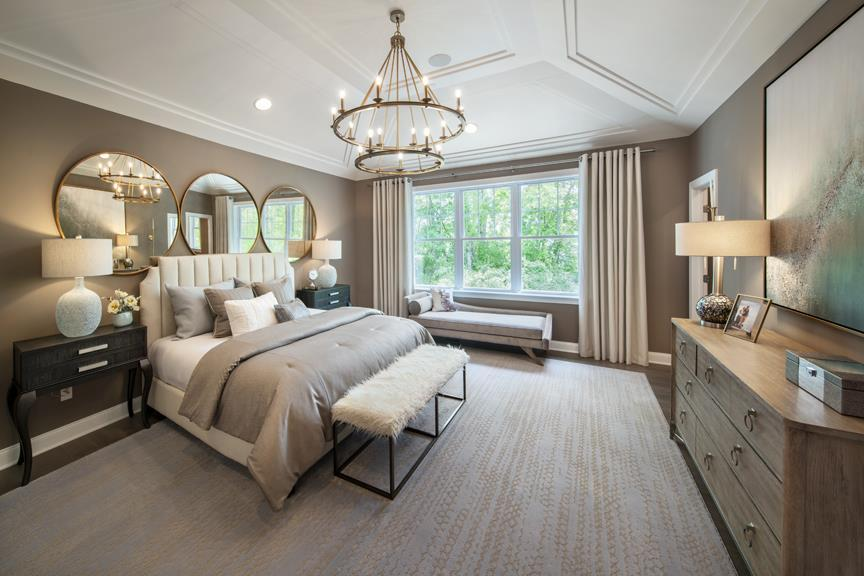 Bedroom featured in the Allendale By W.B. Homes, Inc. in Philadelphia, PA