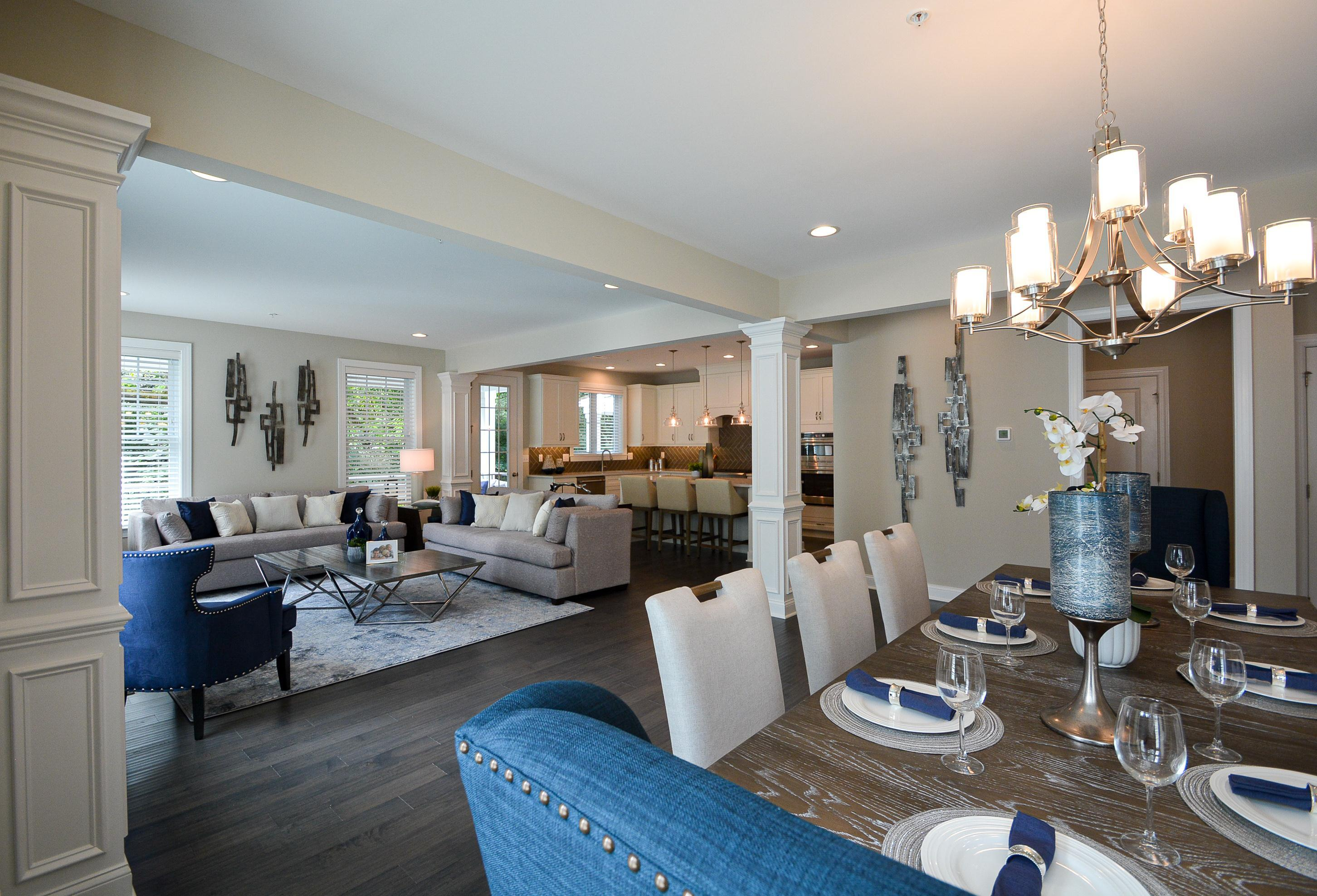 Living Area featured in the Berkeley By W.B. Homes, Inc. in Philadelphia, PA