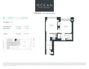 E - The Ocean Resort Residences Conrad: Fort Lauderdale, Florida - The Ocean Resort Residences Co