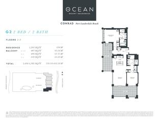 G2 - The Ocean Resort Residences Conrad: Fort Lauderdale, Florida - The Ocean Resort Residences Co
