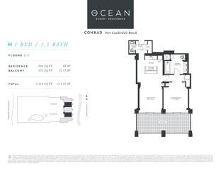 H - The Ocean Resort Residences Conrad: Fort Lauderdale, Florida - The Ocean Resort Residences Co