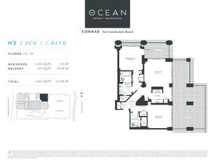 M2 - The Ocean Resort Residences Conrad: Fort Lauderdale, Florida - The Ocean Resort Residences Co