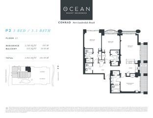 P2 - The Ocean Resort Residences Conrad: Fort Lauderdale, Florida - The Ocean Resort Residences Co