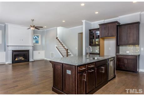 Kitchen-in-The Dawson, John Wieland-at-Traditions at Wake Forest-in-Wake Forest