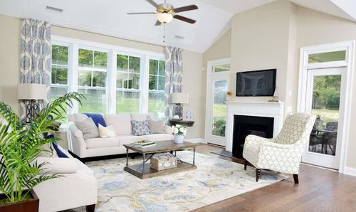 Greatroom-in-The Madelyn, Terramor Homes-at-Traditions at Wake Forest-in-Wake Forest