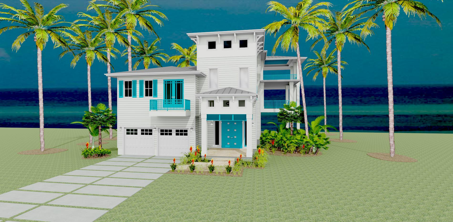 Exterior featured in the Key Biscayne 80's By Wahea Homes  in Houston, TX