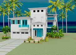 Key Biscayne 80's - Grand Cay Harbour: Texas City, Texas - Wahea Homes