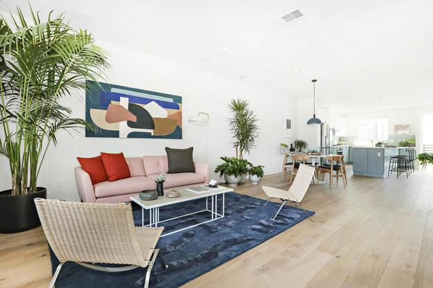 Plan 2 at The E.R.B.:Enjoy a spacious, modern new home in a bustling urban setting in LA!