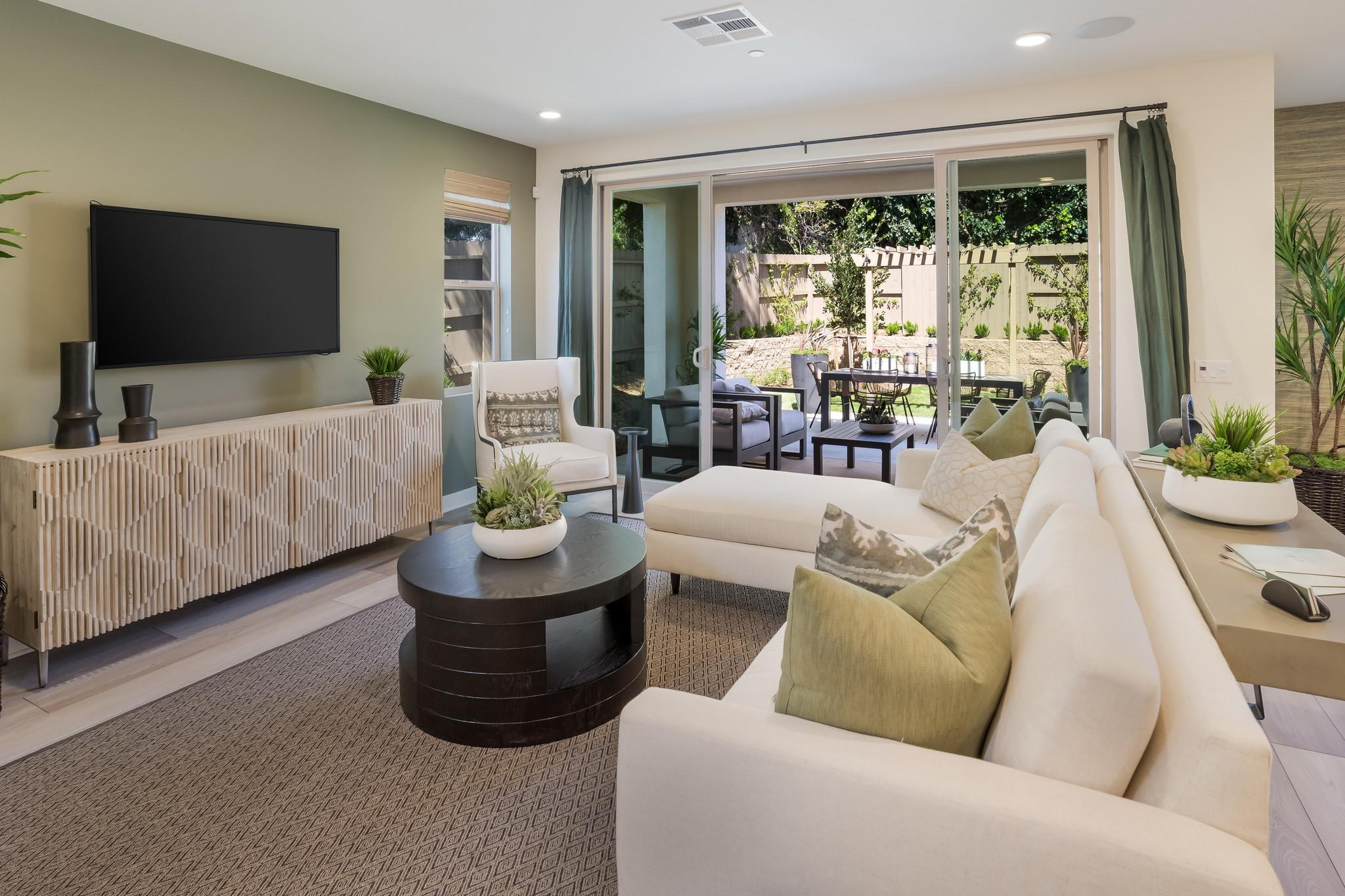 Living Area featured in the Plan 3A-Townhome By Warmington Residential in Santa Barbara, CA