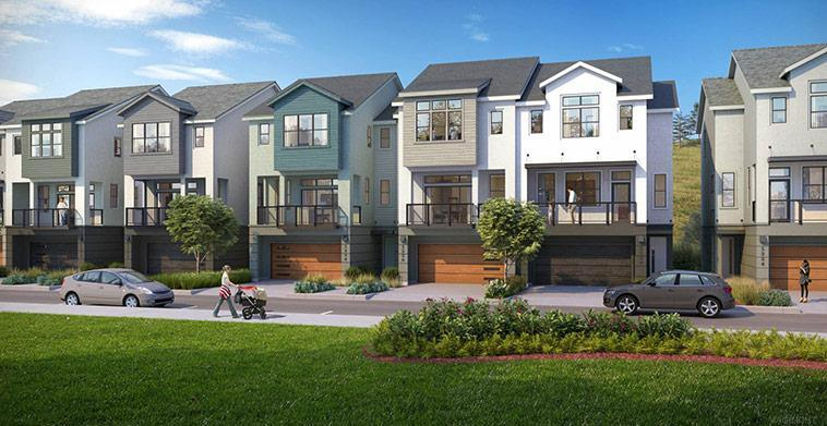 Exterior featured in the Plan 4 By Warmington Residential in San Francisco, CA