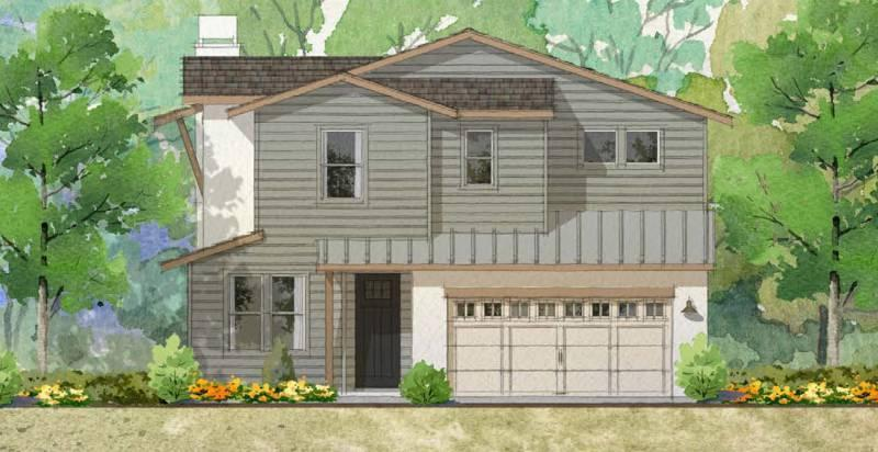 Exterior featured in the Plan 4 - Detached By Warmington Residential in Santa Barbara, CA