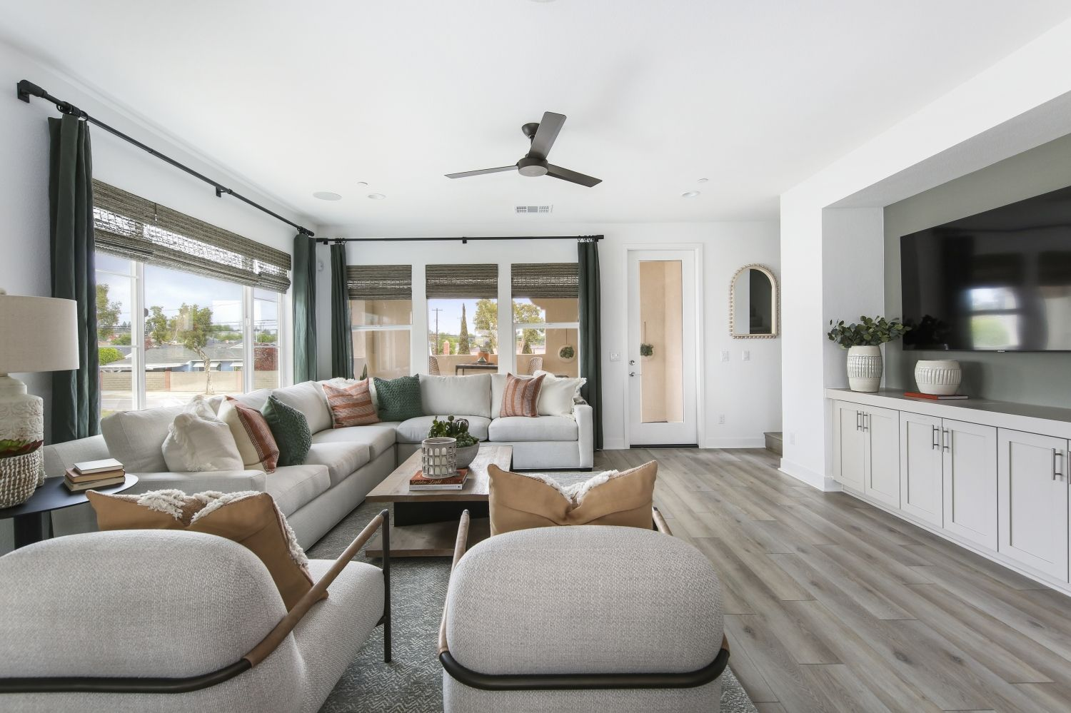 Living Area featured in the Plan 2 By Warmington Residential in Los Angeles, CA