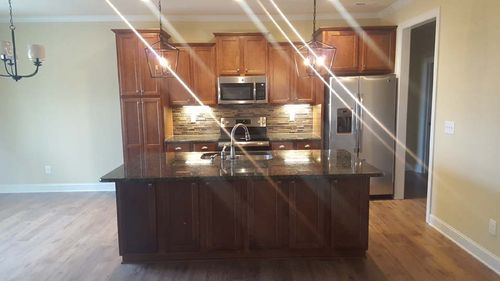 Kitchen-in-Silverbell-at-The Reserve-in-Fuquay Varina