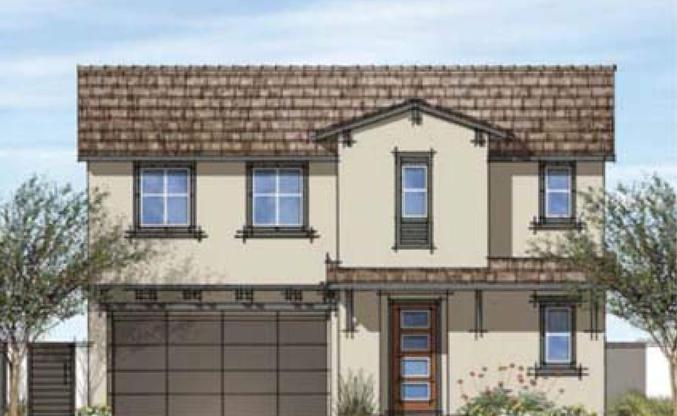 Angeles Pointe:Plan 1 Ranch