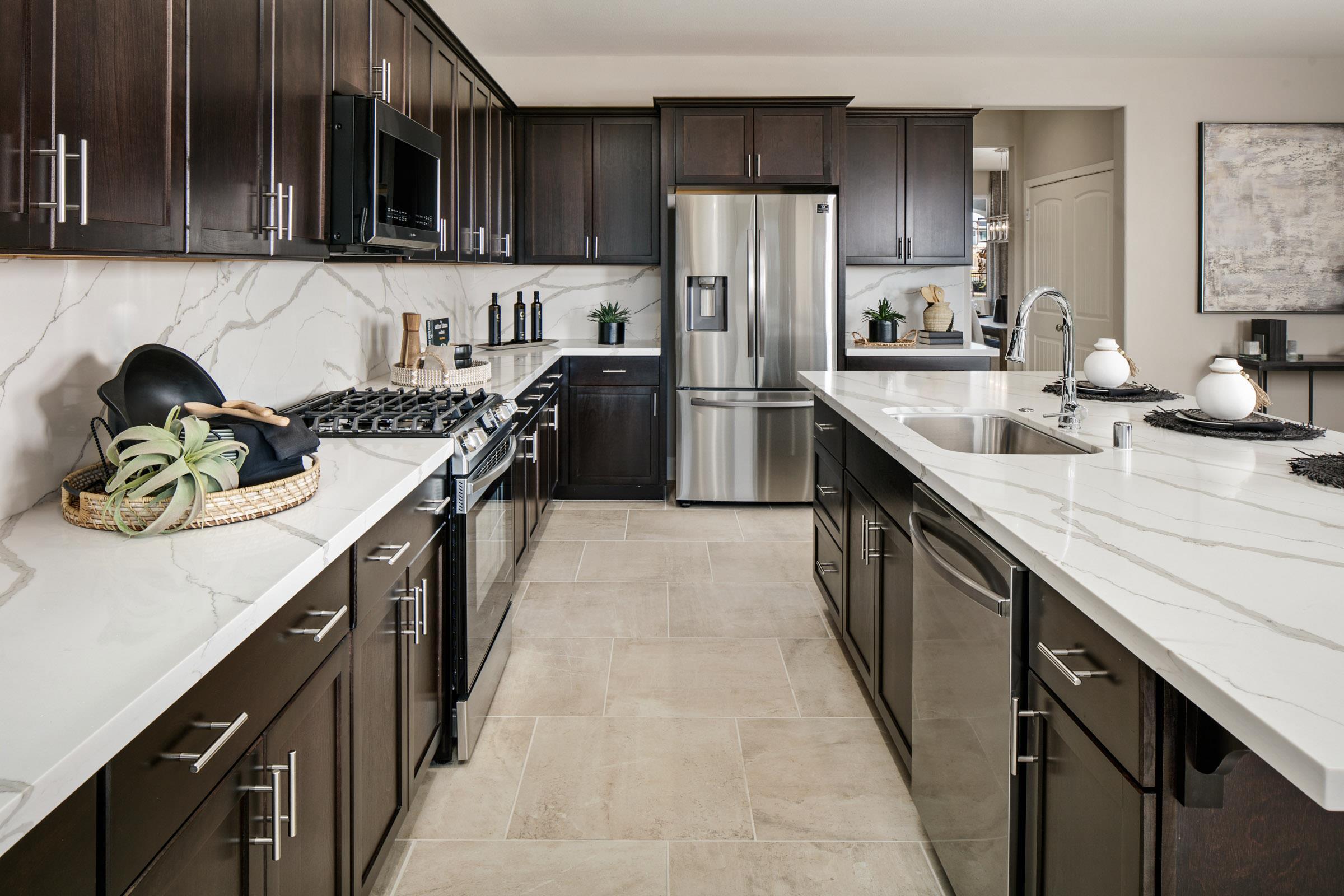 Kitchen featured in the Plan 3 By Watt Communities in Sacramento, CA