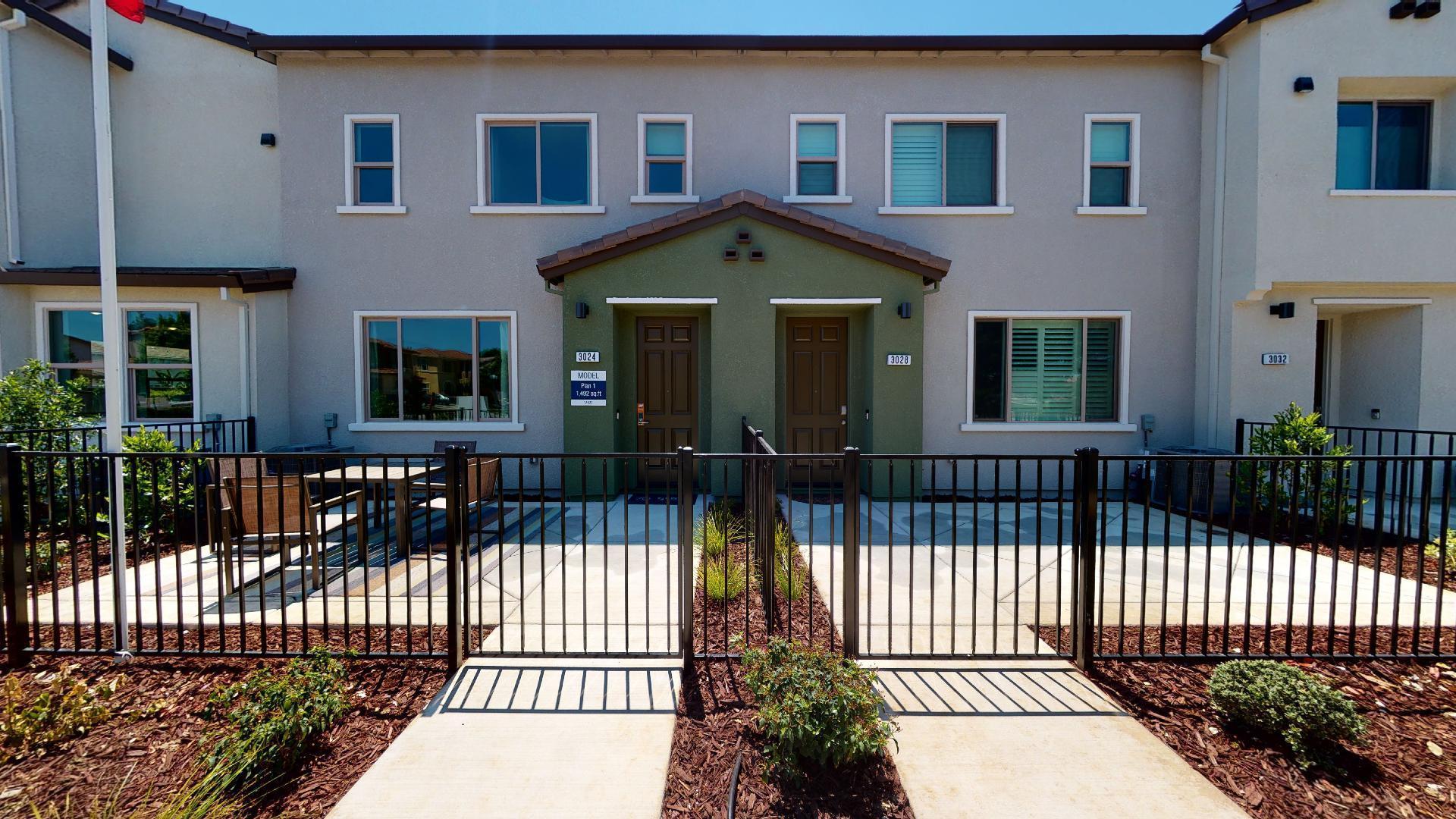 Exterior featured in the Plan 1 By Watt Communities in Sacramento, CA