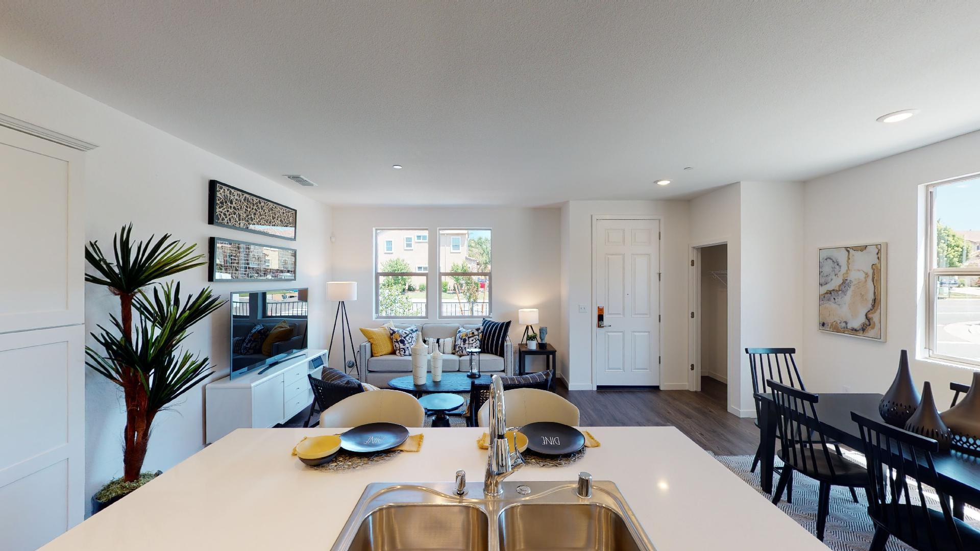 Living Area featured in the Plan 2 By Watt Communities in Sacramento, CA
