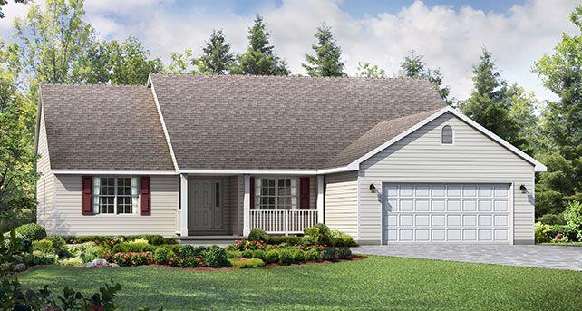 Westport Plan at Wayne Homes Delaware Build On Your Lot in ... on