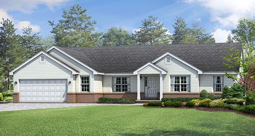 Wayne Homes Delaware Build On Your Lot By In Columbus Ohio