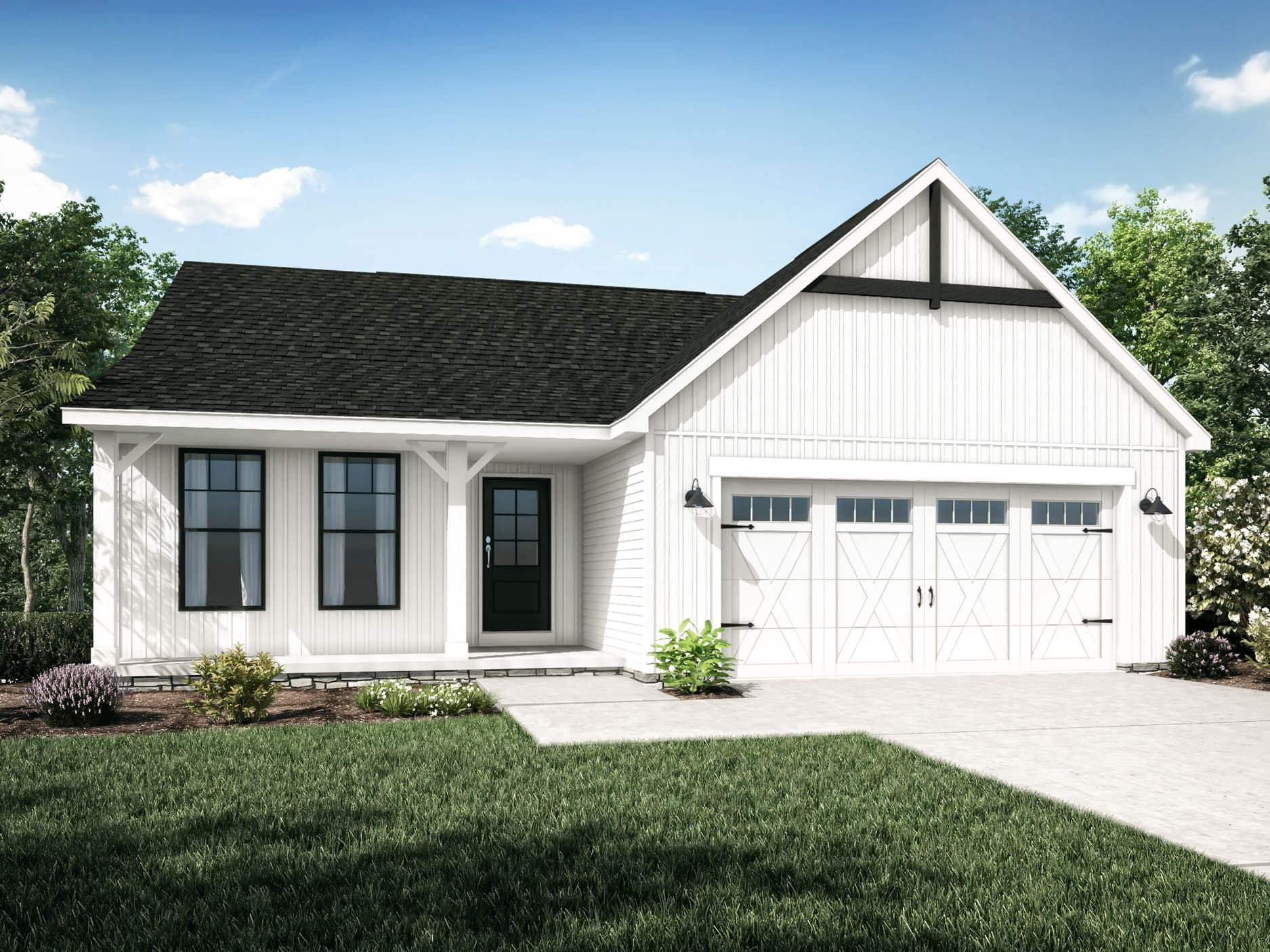 Exterior featured in the Bradford II By Wayne Homes in Columbus, OH