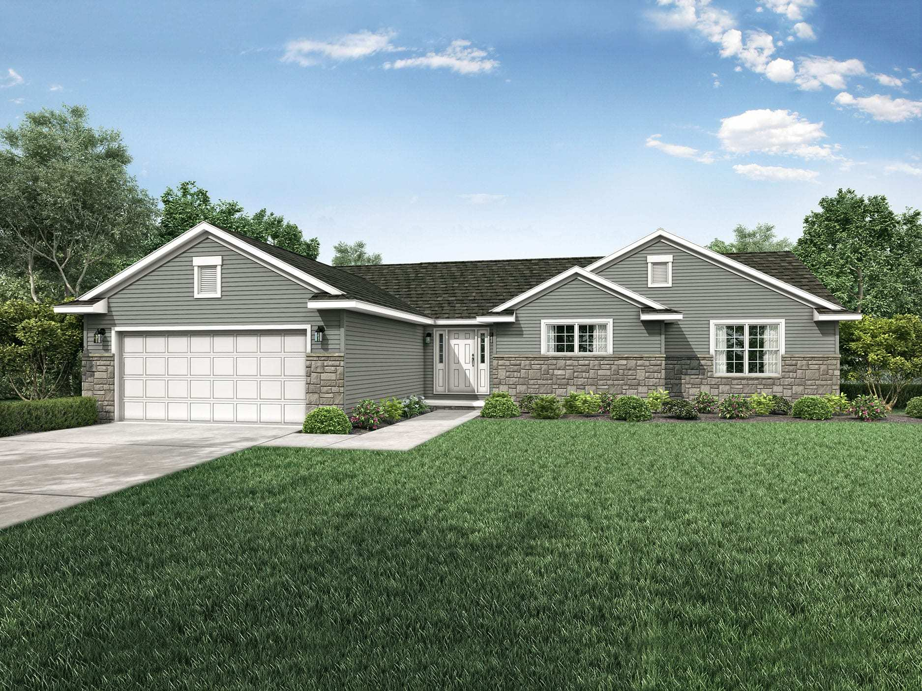 Exterior featured in the Hanover By Wayne Homes in Columbus, OH