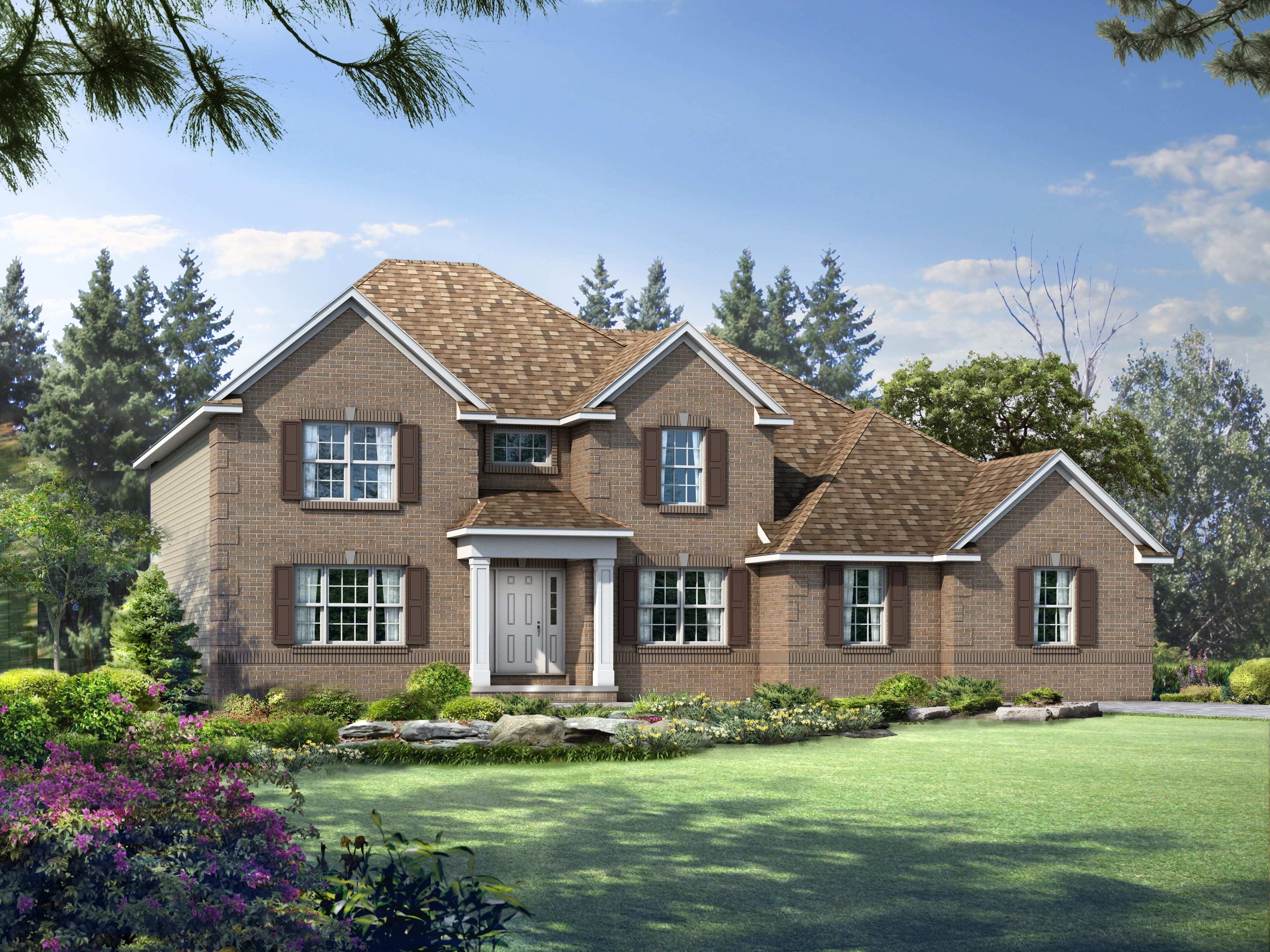 Exterior featured in the Winchester By Wayne Homes in Columbus, OH