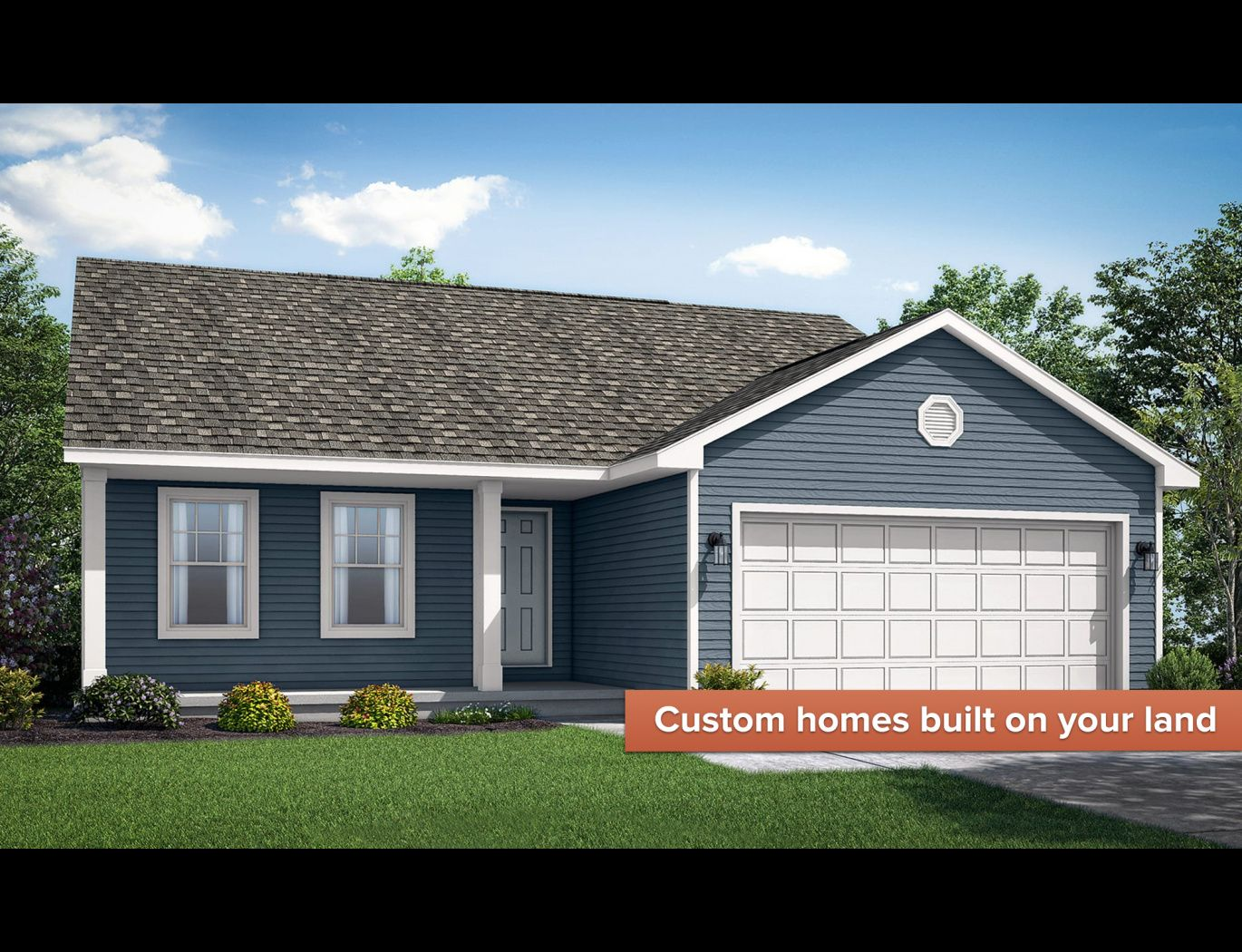 Exterior featured in the Bristol II By Wayne Homes in Wheeling, OH