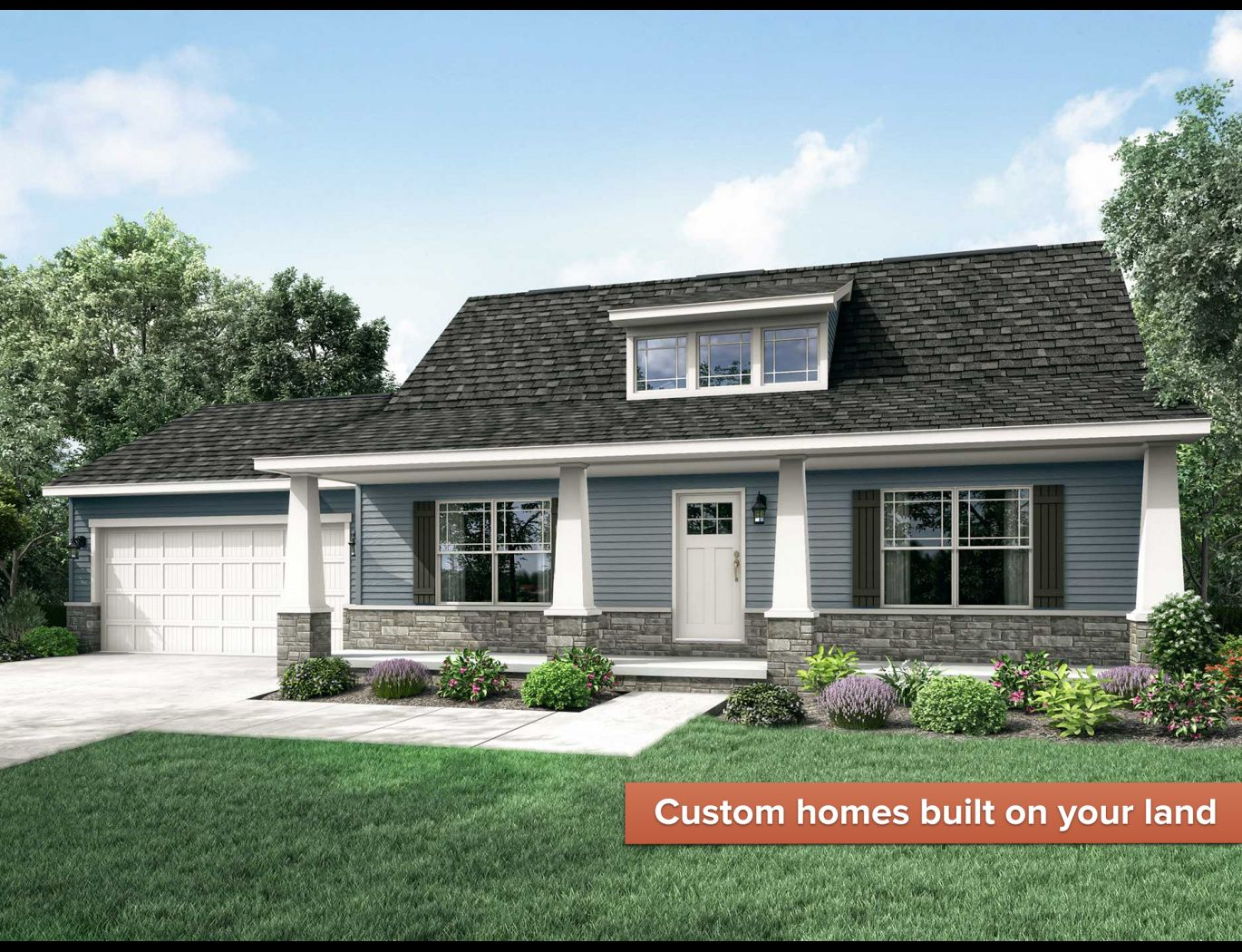 Exterior featured in the Somerville II By Wayne Homes in Wheeling, OH