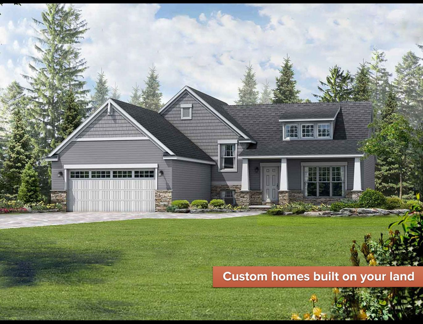 Exterior featured in the Princeton II By Wayne Homes in Columbus, OH