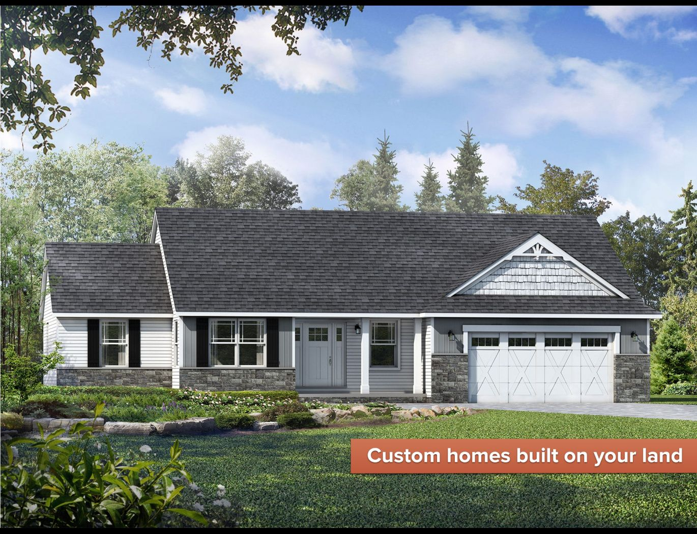 Exterior featured in the Richmond II By Wayne Homes in Wheeling, OH