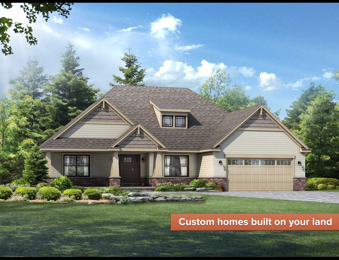 Exterior featured in the Yorktown By Wayne Homes in Pittsburgh, PA