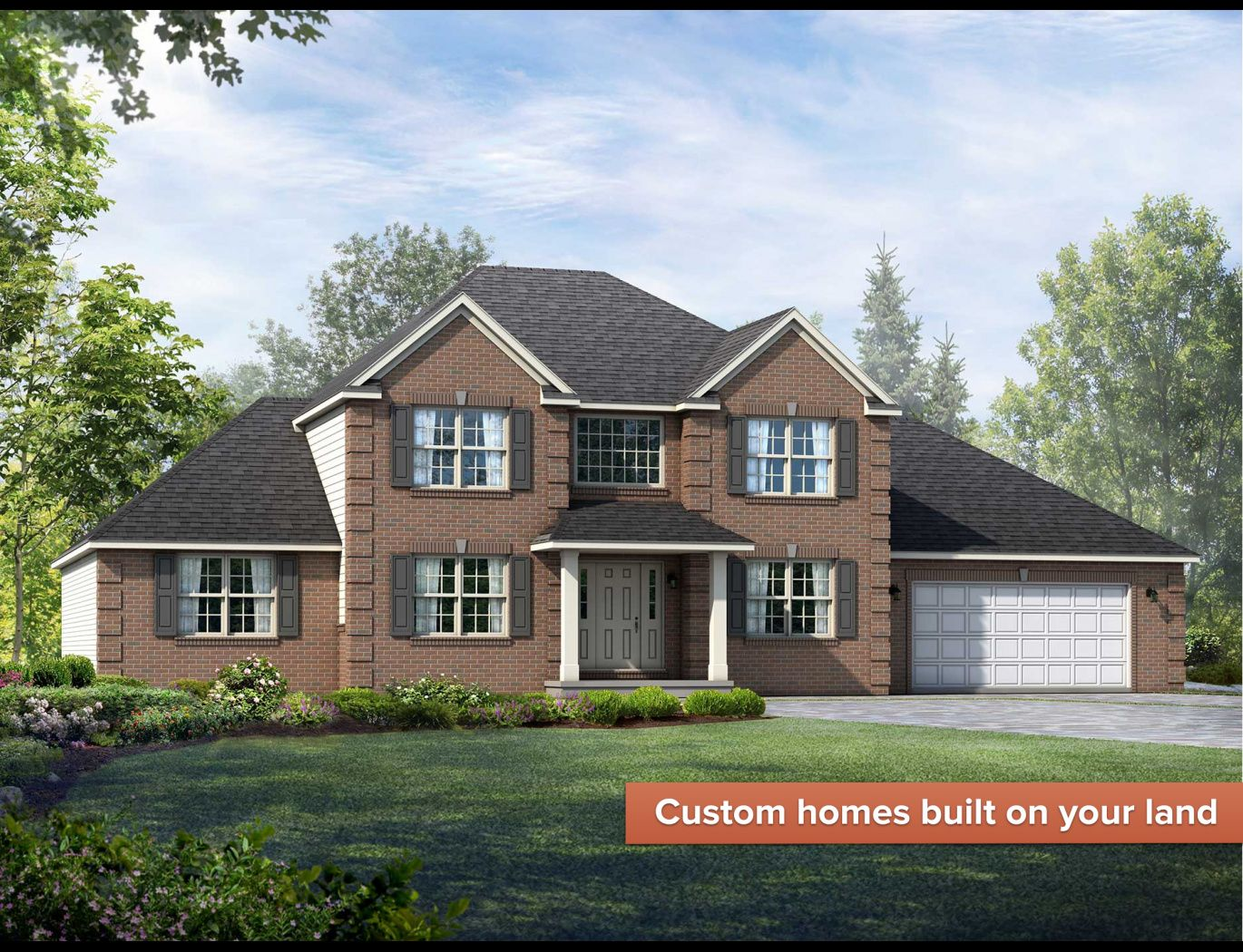 Exterior featured in the Saratoga By Wayne Homes in Cleveland, OH