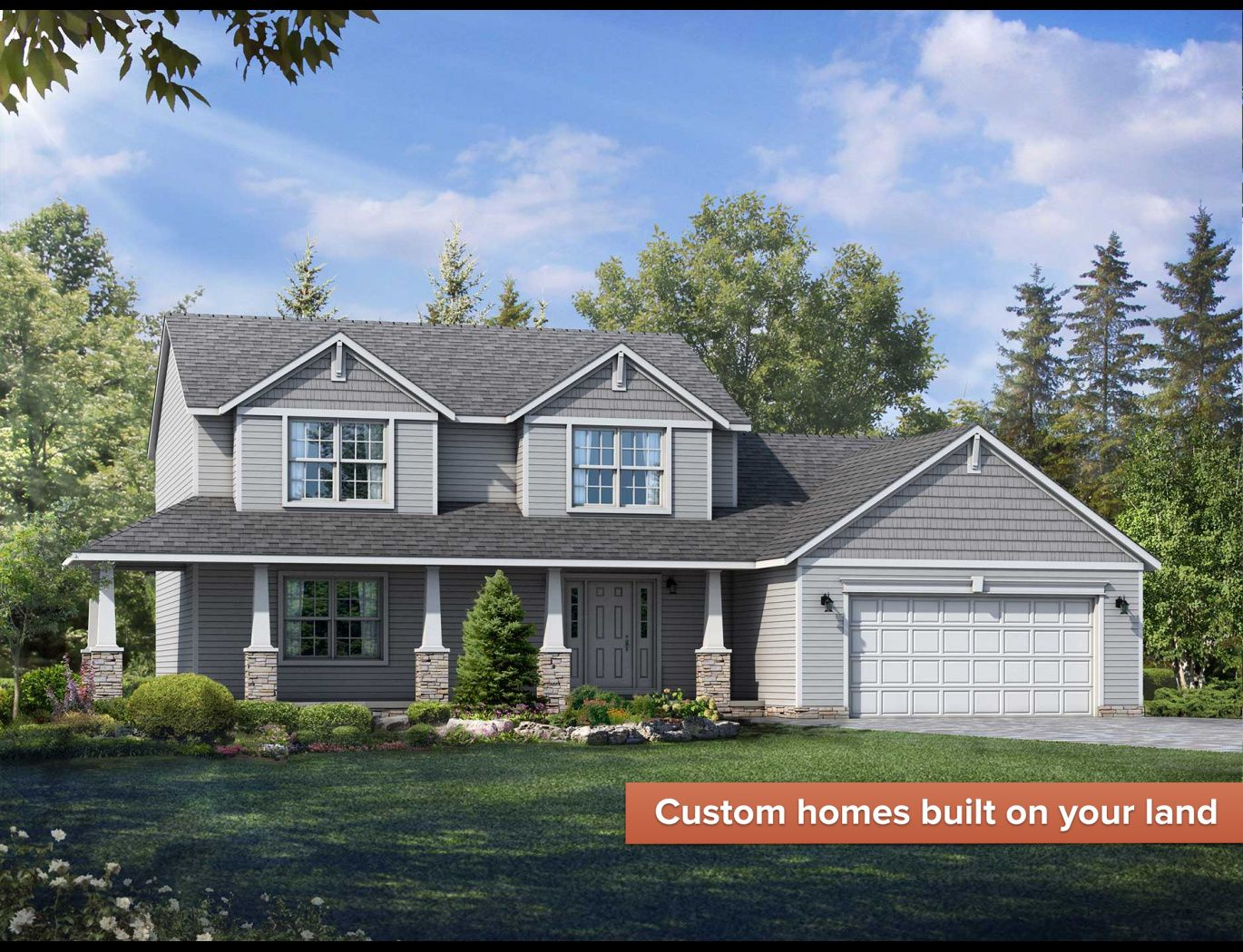 Exterior featured in the Cumberland By Wayne Homes in Cleveland, OH