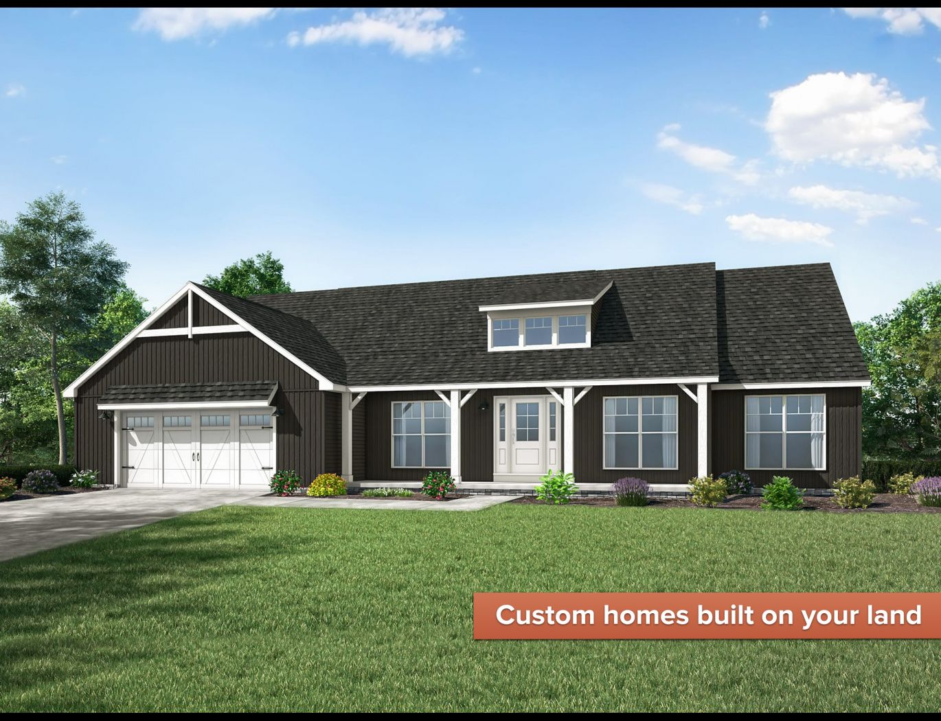 Exterior featured in the Alexandria By Wayne Homes in Akron, OH