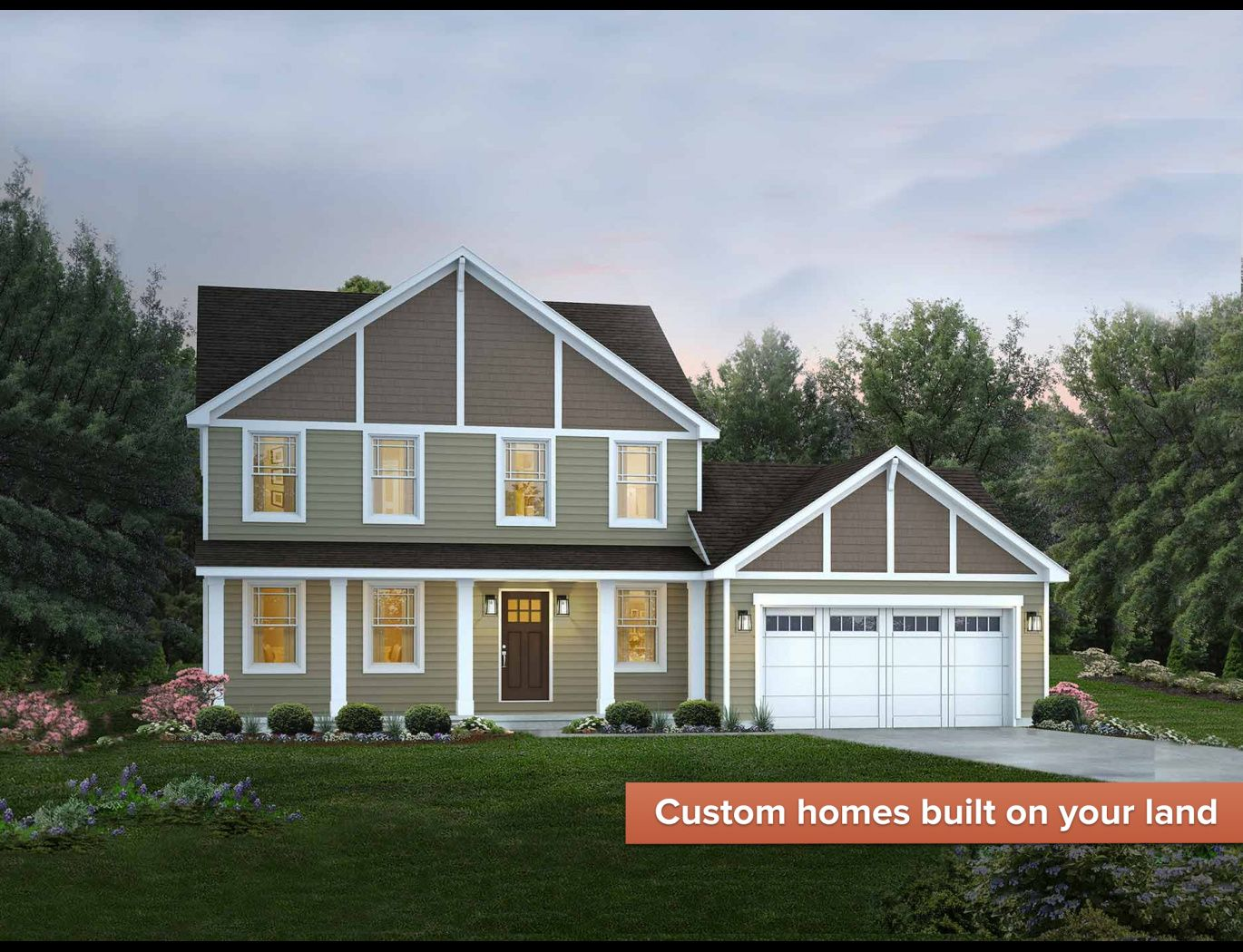 Exterior featured in the Savannah By Wayne Homes in Toledo, OH