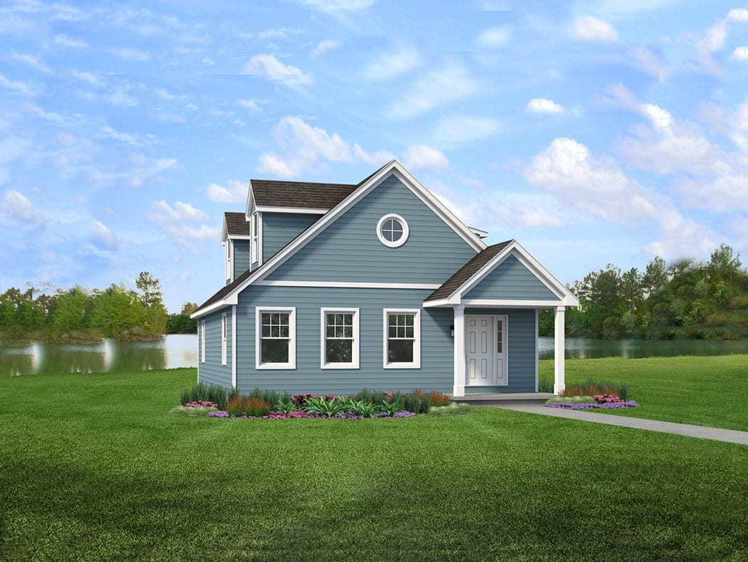 Exterior featured in the Whitmore By Wayne Homes in Toledo, OH