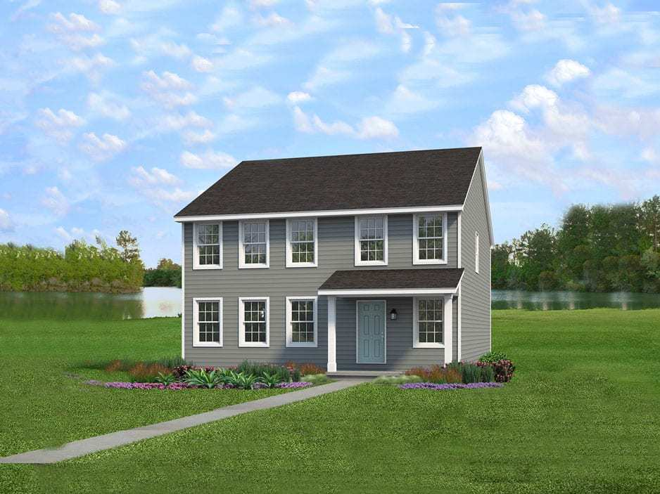 Exterior featured in the Chesapeake By Wayne Homes in Akron, OH