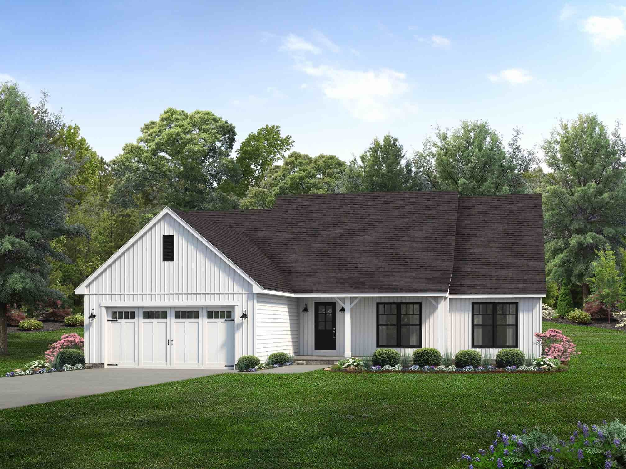 Exterior featured in the McAllister By Wayne Homes in Toledo, OH