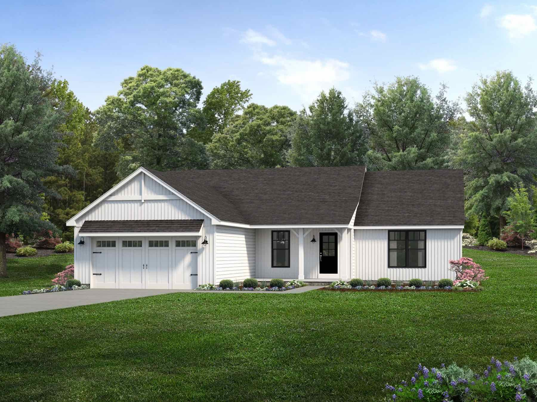 Exterior featured in the Camden II By Wayne Homes in Toledo, OH