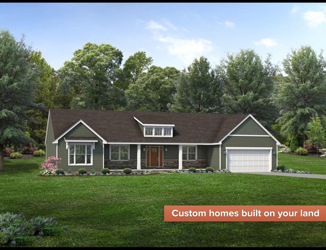 Exterior featured in the Fairfield By Wayne Homes in Cleveland, OH