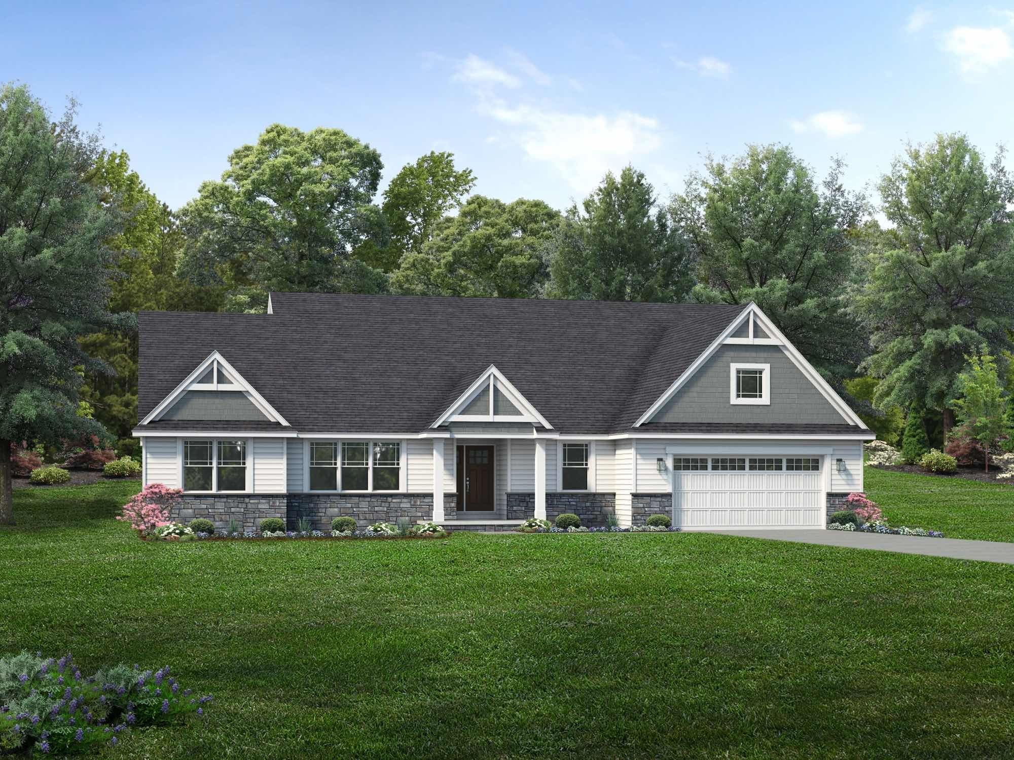 Exterior featured in the Stanton By Wayne Homes in Akron, OH