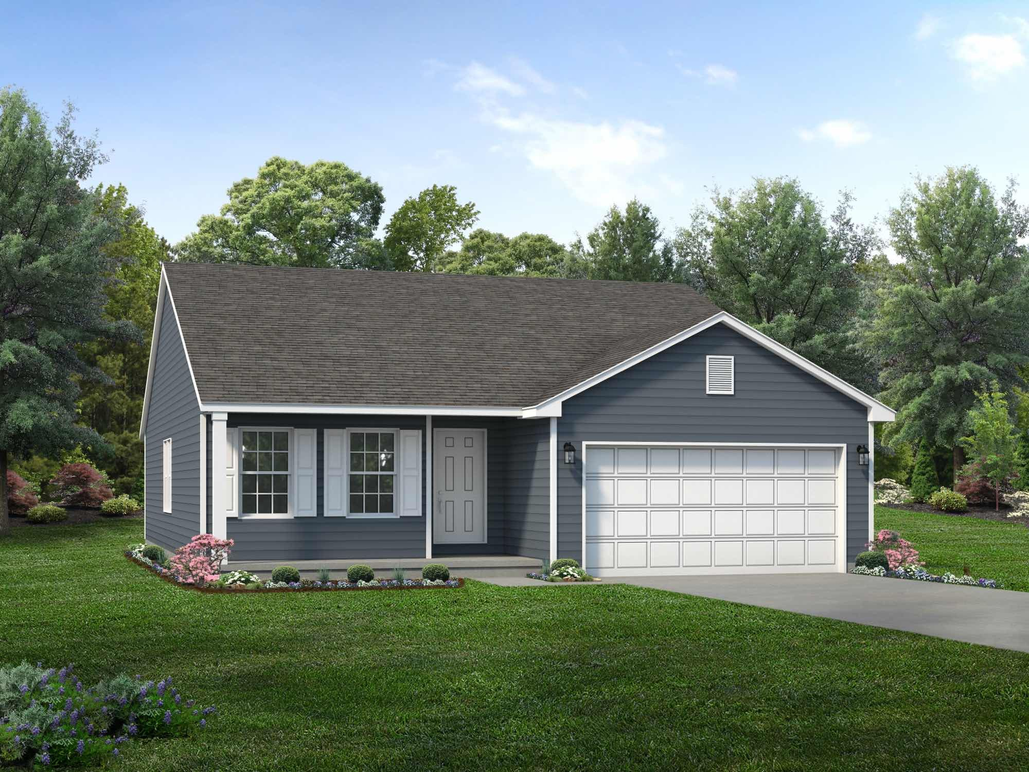 Exterior featured in the Bradford By Wayne Homes in Cleveland, OH