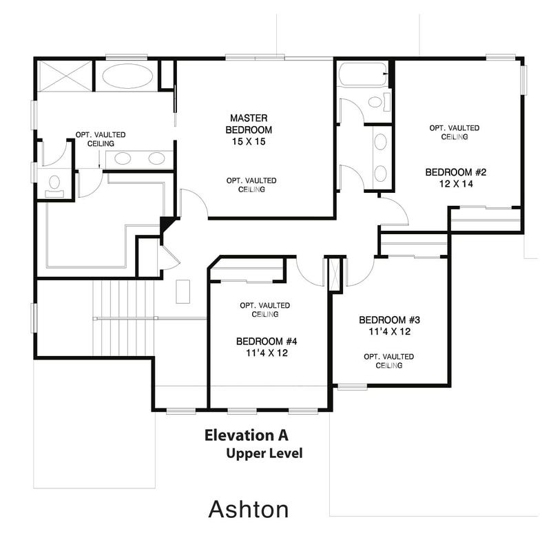 Ashton Home Plan By Weaver Homes In All Floor Plans