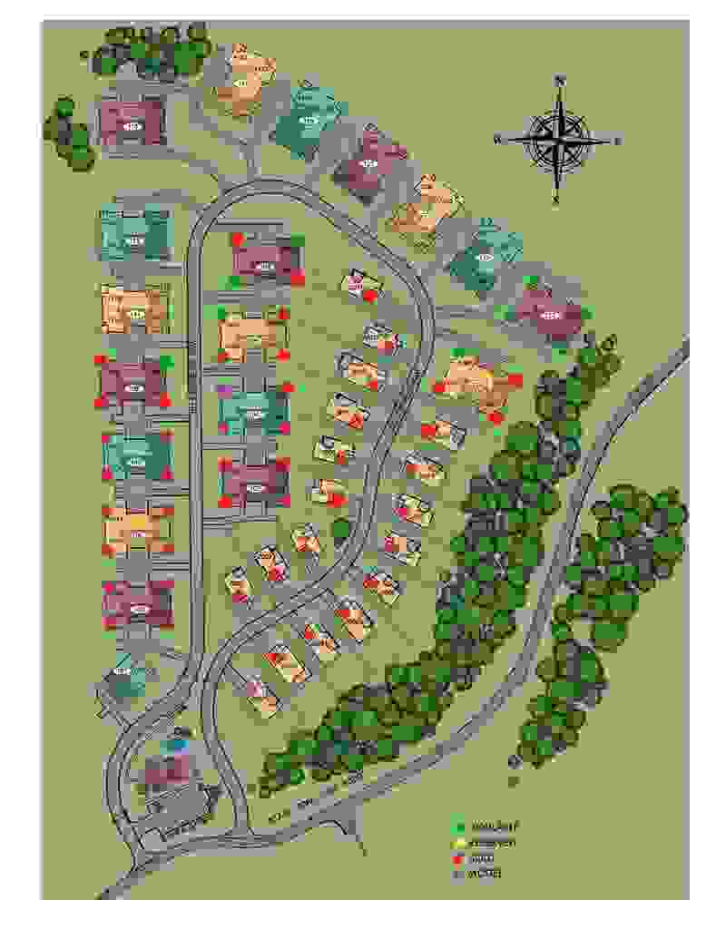 Millcreek Farms Site Map