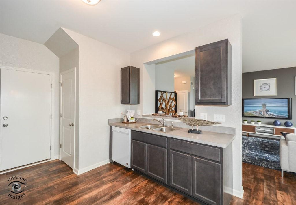 Kitchen featured in the Aspen By West Point Builders in Chicago, IL