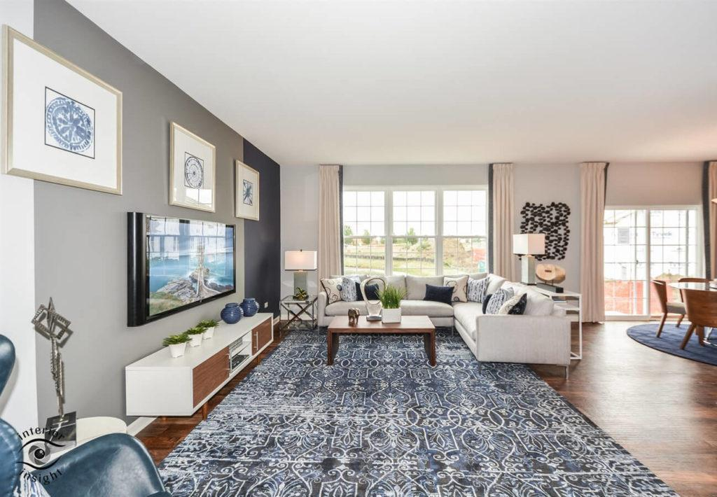 Living Area featured in the Aspen By West Point Builders in Chicago, IL